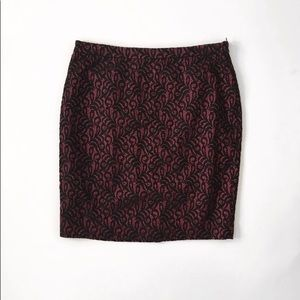 The Limited skirt pencil straight lace size 14